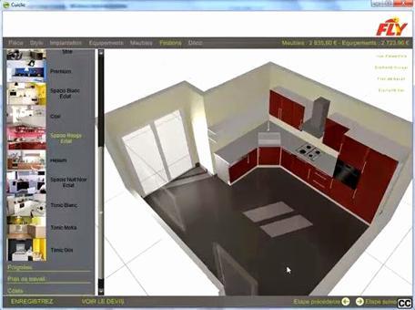 dessiner sa cuisine en 3d gratuitement