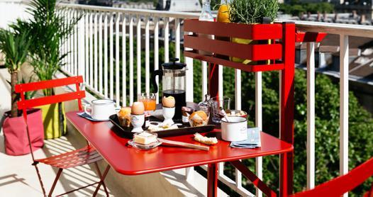 table balcon