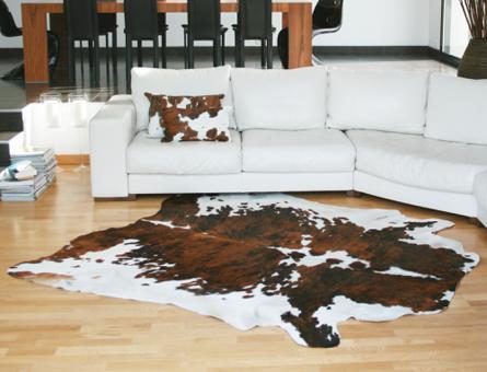 tapis peau de vache