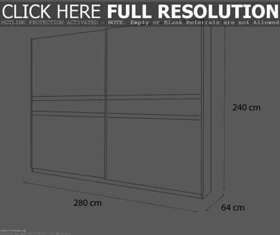 dimension armoire