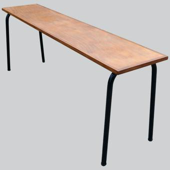 table étroite